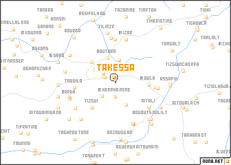 map of Takessa