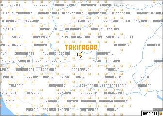 map of Takinagar