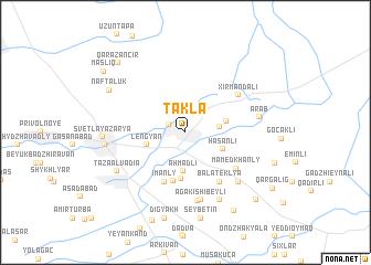 map of Tǝklǝ