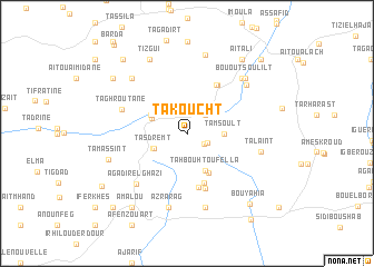 map of Takoucht