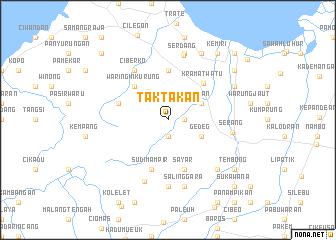 map of Taktakan