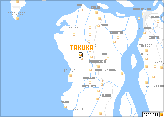 map of Takuka