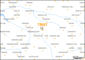 map of Ta-kut