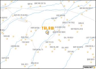 map of Talabı