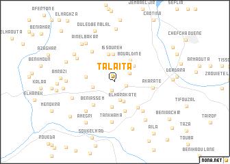 map of Talaïta