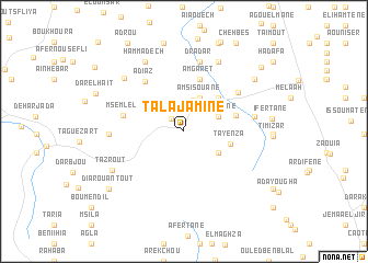map of Talajamine