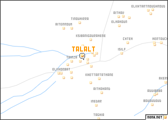 map of Talalt
