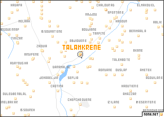 map of Talamkrene