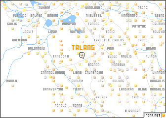 map of Talang