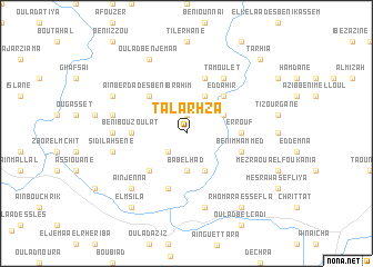 map of Talarhza