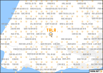 map of Tala