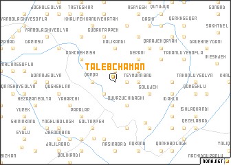 map of Ţāleb Chaman