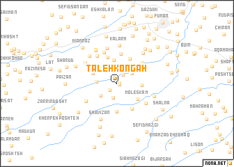 map of Taleh Kongāh