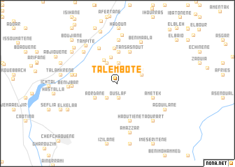 map of Talembote