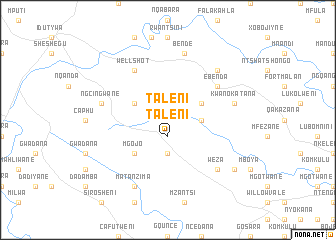 map of Taleni