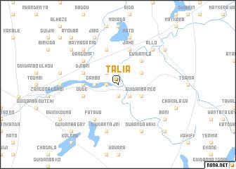 Talia Niger map nonanet