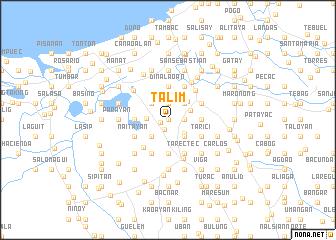 map of Talim