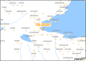 map of Tali-ogon
