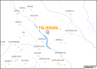 map of Talışnuru