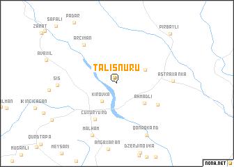 map of Talışnuru