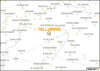 map of Tall Jammāl