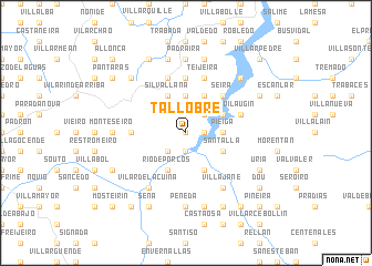 map of Tallobre