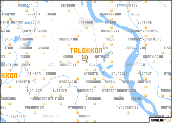 map of Talokkon