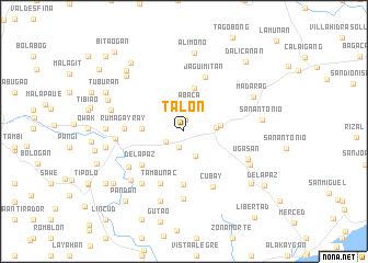 map of Talon