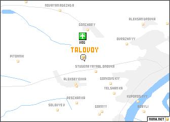 map of Talovoy
