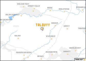 map of Talovyy