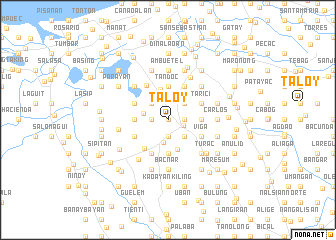 map of Taloy