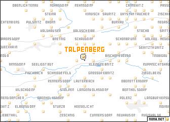 map of Talpenberg
