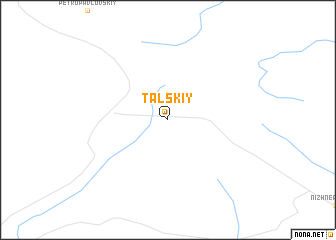 map of Tal\