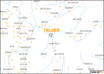 map of Talubin
