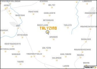 map of Talyzino