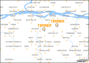 map of Tamabin