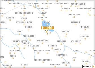map of Tamada