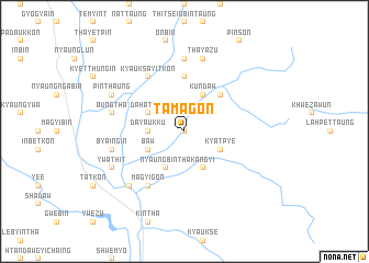 map of Tamagon
