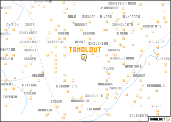 map of Tamalout
