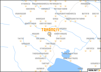 map of Tamangyi