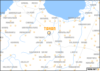 map of Taman