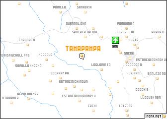 map of Tamapampa