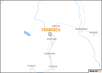 map of Tamarack