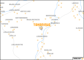 map of Tamarindo