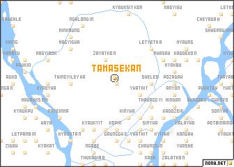 map of Tamasekan