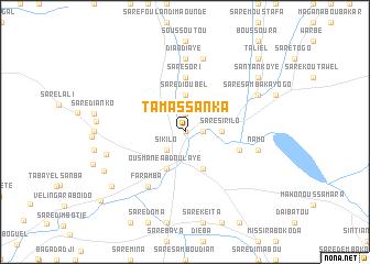 map of Tamassanka