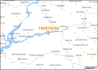 map of Tamatakaw