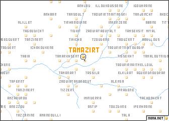 map of Tamazirt