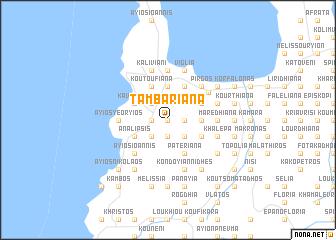 map of Tambarianá