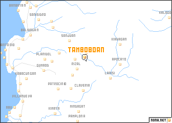 map of Tamboboan